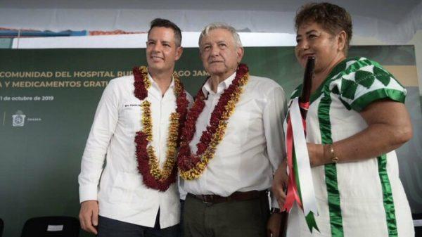 Celebra Alejandro Murat voluntad del Gobierno de México para fortalecer el sistema de Salud de Oaxaca