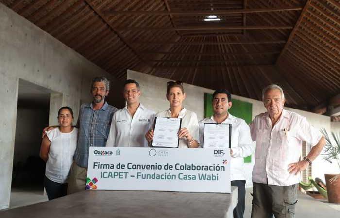 Gobierno de Oaxaca y Fundación Casa Wabi suman esfuerzos para fortalecer la productividad en la Costa