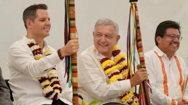Reafirma Alejandro Murat su alianza con el Gobierno Federal  para la pacificación de México