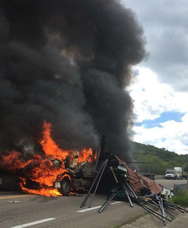 Fatal accidente cerca de caseta en Huitzo