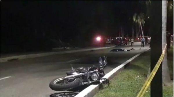 Policía muere arrollado en Huatulco