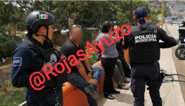 Empleado de la Segego arrastró a despachador de gasolina en Oaxaca