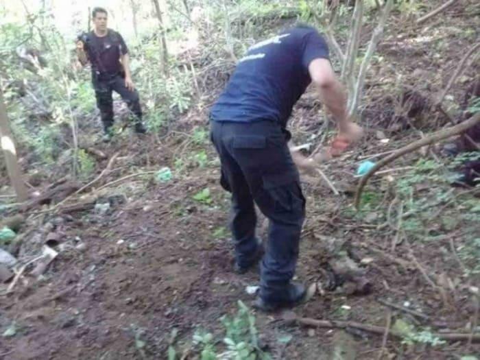 Hallan restos humanos en fosa clandestina en Bajos de Coyula