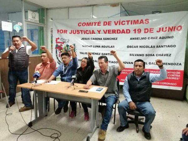 El COVIC con el respaldo de la Sección XXII, amenazan con boicotear visita de AMLO a Nochixtlán