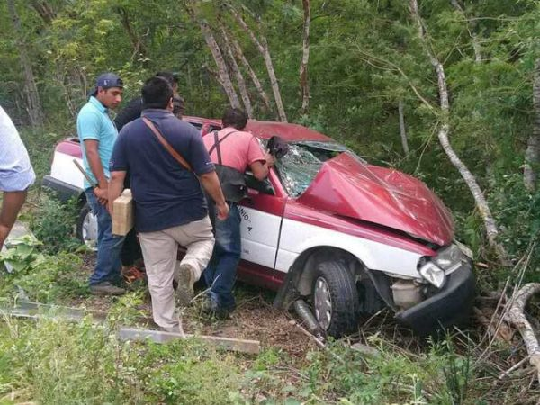 Brutal accidente en el Istmo
