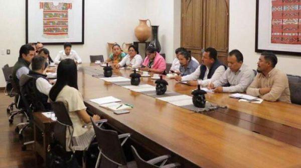 Concluye marcha de Juchitán