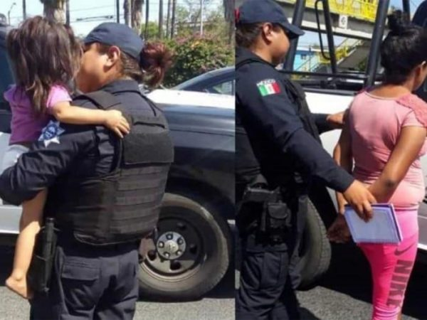 Detienen a mujer que intentó arrojar a su hija desde un puente en Monterrey