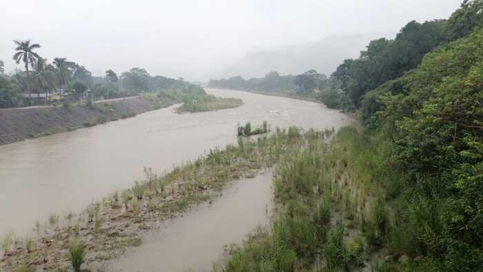 En alerta Protección Civil de Valle Nacional ante lento crecimiento de su río