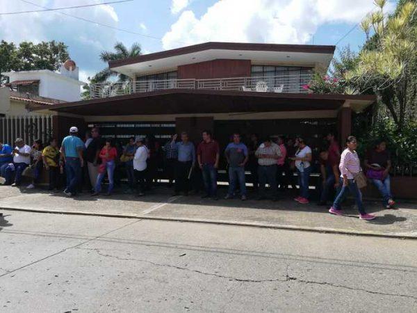 Sección 22 truena contra la Delegada de Bienestar en Tuxtepec, la acusa de beneficiar a la 59