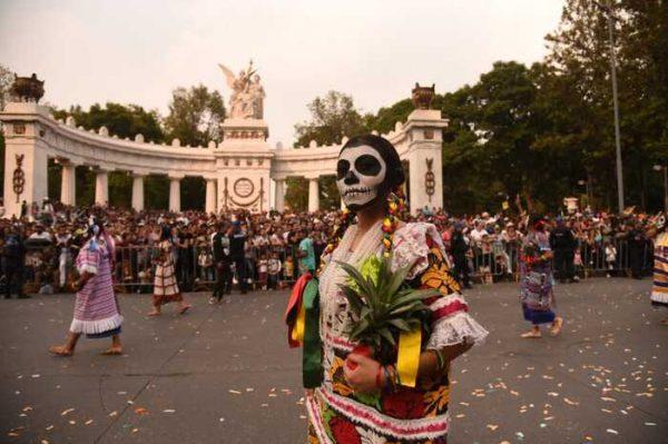 Cautivó Oaxaca en el Desfile Internacional de Muertos CDMX 2019