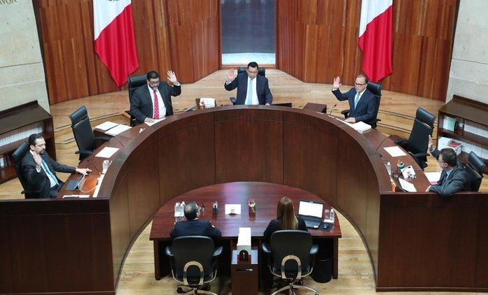 Tribunal Electoral cancela elección interna de Morena