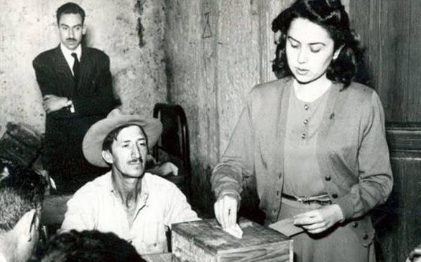 Han transcurrido sesenta y seis años que se publicó en el diario oficial el decreto que permitía a las mujeres participar en el ámbito democrático