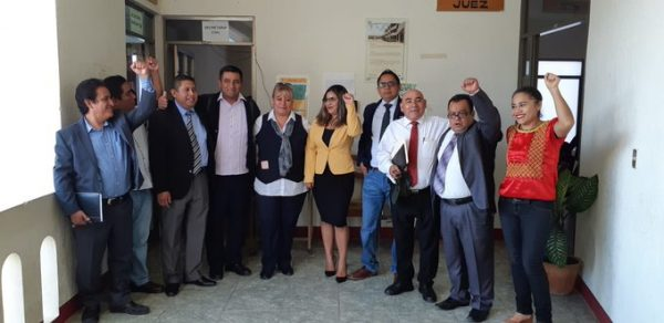 Abogados denuncian irregularidades en Juzgado Civil de Etla; piden destitución de ejecutores