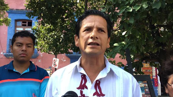 Artistas oaxaqueños denuncian malos trabajos en el kiosco de Oaxaca