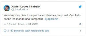 Chabelo aclara su estado de salud y pide que 'ya le paren' a los memes