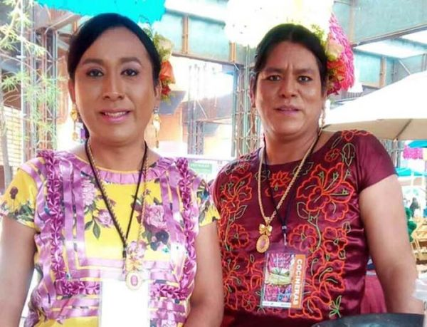 Nicol Peto, primera muxe de Tehuantepec reconocida como cocinera tradicional