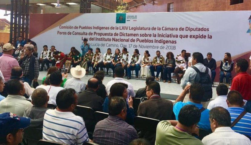 Convocan a foro sobre consulta indígena en Oaxaca