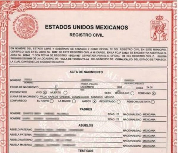 Registro civil de Tuxtepec, detecta documentos oficiales apócrifos
