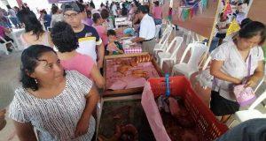 Con una gran afluencia de visitantes, se realizó la segunda feria del pan de muerto y el café en Valle Nacional