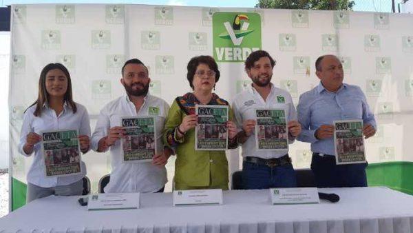 """Presentan PVEM, """"Gaceta Verde"""" en Oaxaca"""