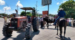 Ganaderos protestan en el Istmo