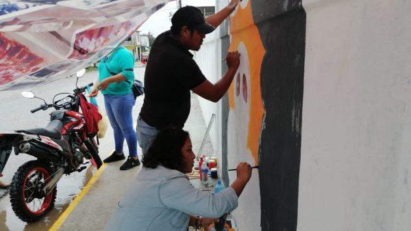 Por lluvias suspenden concurso de graffiti en Valle; anuncia edil más eventos por día de muertos