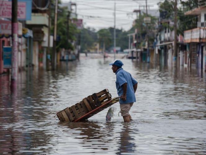 Declaran emergencia en cuatro municipios de Veracruz