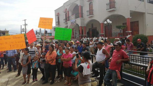 Habitantes de Jalapa de Díaz se movilizarán, para exigir liberación del Presidente Arturo García