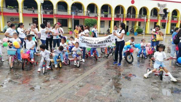 Escuelas de nivel preescolar y primaria celebran día internacional del deporte
