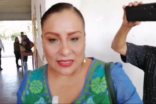 Anuncia Karina Barón reunión bilateral de seguridad entre Oaxaca y Veracruz en Tuxtepec