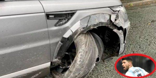 Sergio 'Kun' Agüero sufre accidente automovilístico