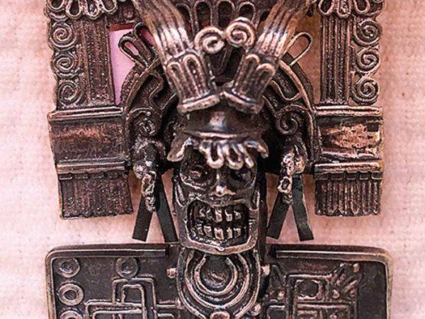 En Oaxaca, visten a la muerte con plata; realizan orfebrería Mixteca