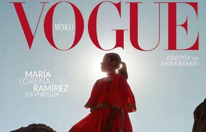 María Lorena Ramírez, corredora rarámuri, portada de Vogue