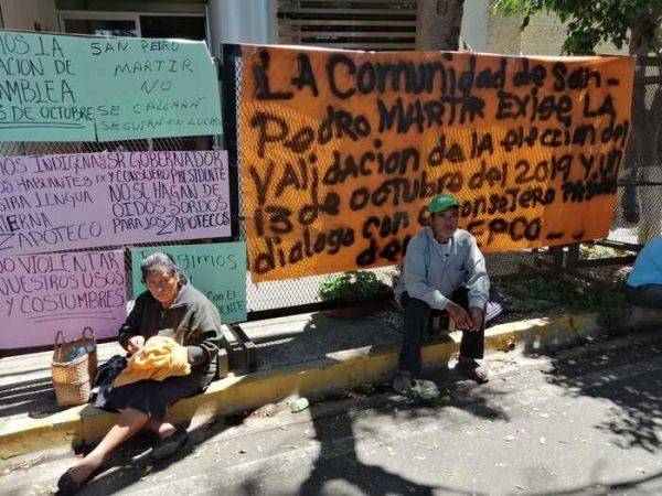 Pobladores de San Pedro Mártir revientan contra su presidente, lo tachan de mañoso y de manipular elecciones