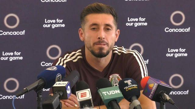 'Somos más humildes que muchos que hablan'; Héctor Herrera defiende al Tricolor