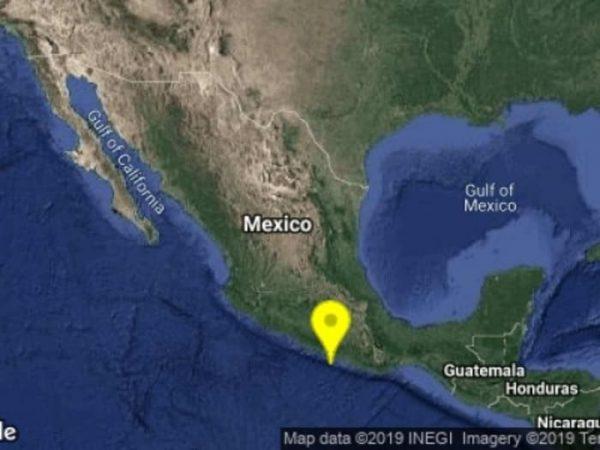 Vuelve a temblar en Guerrero; se registra sismo de 4.7