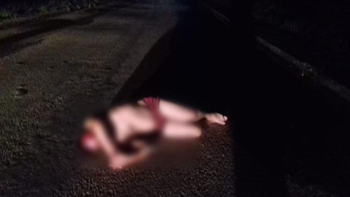 Sujeto ebrio encontrado en el asfalto causa pánico en Tuxtepec