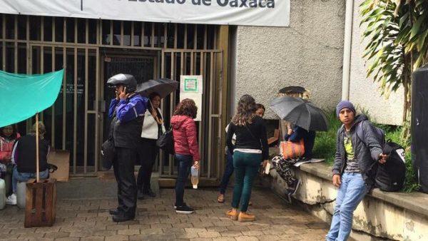 Cumple 7 días toma de la junta local por Integrantes del STEUABJO