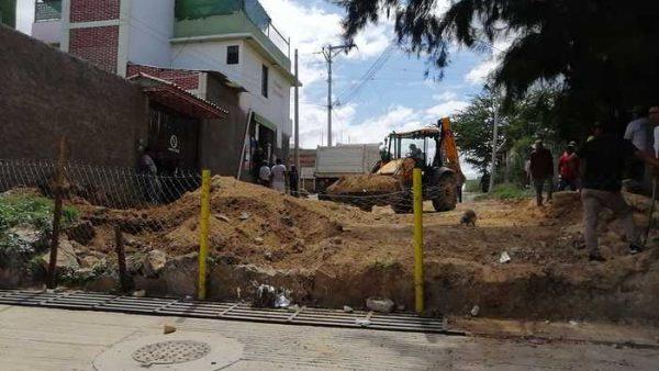 San Antonio de la Cal y Fraccionamiento el Rosario en pugna por terreno
