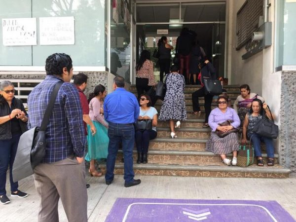 Paran labores trabajadores de la Penitenciaría del Estado de Oaxaca