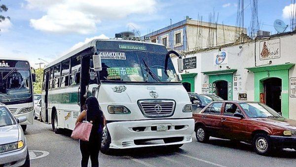 Inicia este lunes transporte exclusivo para mujeres en Oaxaca