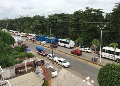 Población de Tuxtepec molesta por falta de urbanos