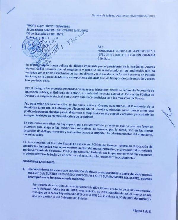 El IEEPO dio respuesta a los planteamientos de los supervisores de primarias