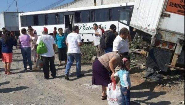 Carambola en la Córdoba-Veracruz deja 12 personas lesionados