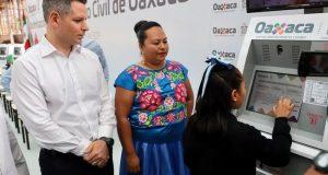 Actas de nacimiento digitales en Oaxaca