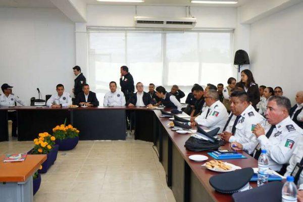 Llama AMH a integrantes de la SSPO a redoblar esfuerzos por un Oaxaca más seguro