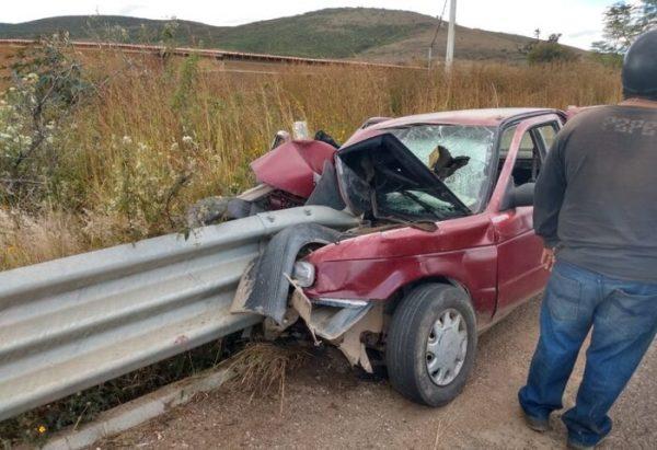 Fuerte accidente en Ocotlán