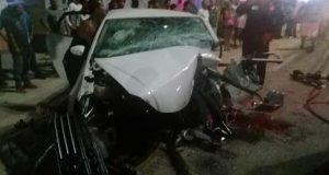 Fatal accidente en Puerto Escondido