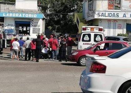 Arrollan a motociclista en Salina Cruz