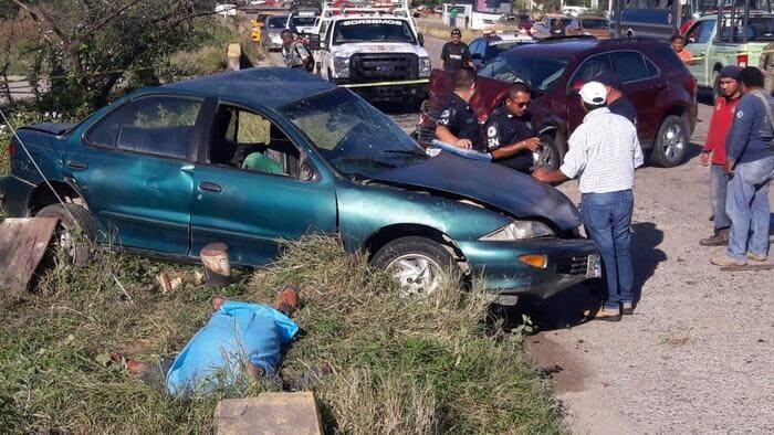 Fatal choque en Salina Cruz deja un muerto